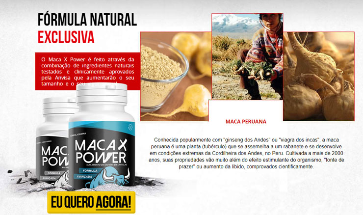 Maxa X Power ou Viagra Natural