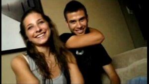 Cena de sexo com casal de adolescentes transando
